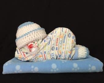 Adorable Handmade Diaper Baby - Allstar
