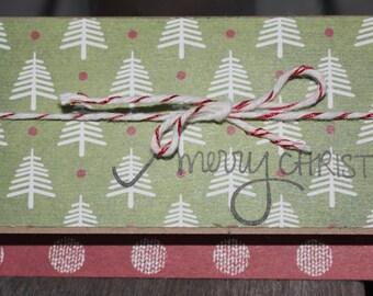 Christmas Gift Card Holders, Christmas Tree Gift Card Holders, Holiday Gift Card Holders