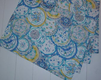 Set of Four Quilted Placemats