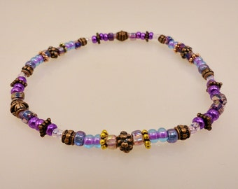 Ornate Beaded Anklet