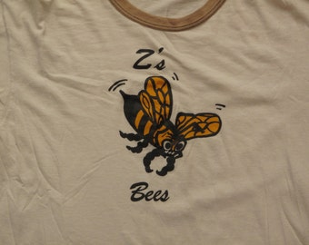 vintage Z's bees ringer tee