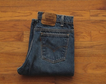 vintage made in usa Levis orange tab 517