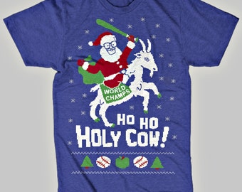 Cubs Ugly Christmas Sweater T-Shirt