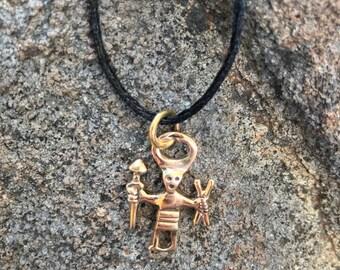 Odin Warrior / Messenger Amulet (Heathen Asatru Viking Norse Swedish)