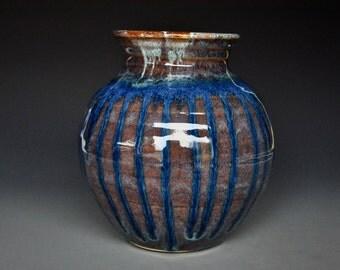 Pottery Vase Stoneware Flower Vase Handmade Ceramic Vase Pottery I