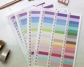 57 Hand Drawn Labels Multi colour Planner Stickers, for Erin Condren, Inkwell Press, Happy Planner