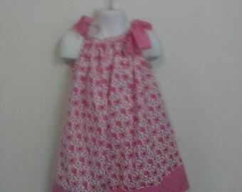 Baby Girl  Pink Paisley Pillowcase Dress  Sizes Availible Newborn - 6yr
