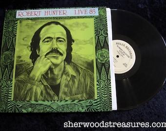 Robert Hunter 85 Grateful Dead Lyricist Original Vintage Vinyl Lp Record Stereo  Very Clean