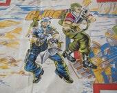 GI Joe Twin Flat Bed Sheet