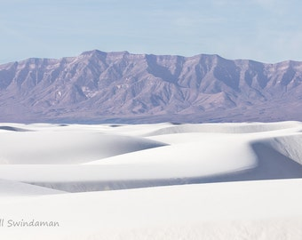 White Sands Nature Landscape Four