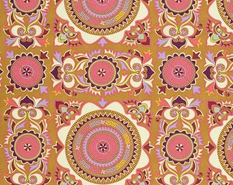Mantra in Linen Dream Weaver Fabric by Amy Butler - 1 Yard