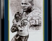Ladanian Tomlinson of San Diego Chargers Poster Art