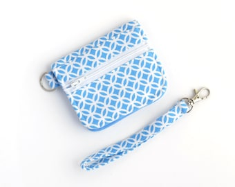 Wallet with Strap - ID Wallet - College Student Gift for Her - Credit Card Holder - Travel Wallet - Womens Wallet - Ready to Ship