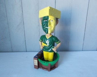 Brett Farve Cheese Head Bobblehead