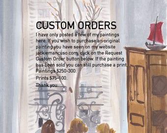 Request Custom Order