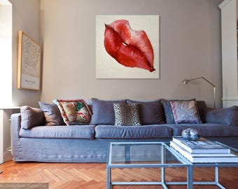 Giant Canvas Print - PASSION - 40x40 inches