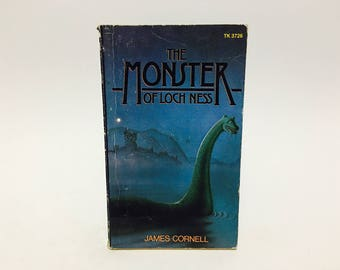 Vintage Non Fiction Book The Monster of Loch Ness 1977 Paperback