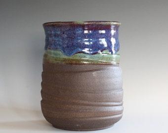 Ceramic Vase, Utensil Holder, Pottery Vase, Utensil Crock, Ceramics and Pottery, Ceramic Wine Holder