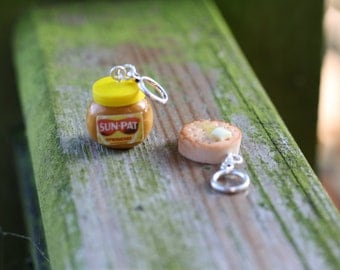 Stitchmarkers - Peanut Butter and Crumpet - Stitch Markers