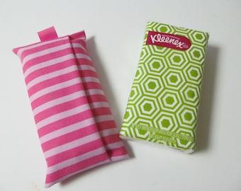Tissue Case/Pink Stripe