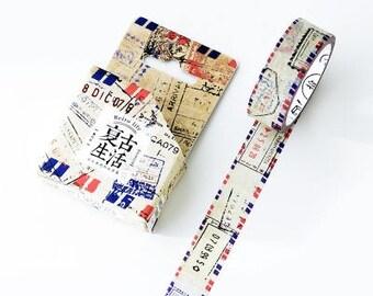 Japanese Washi Tape- Masking Tape- Planner Stickers-Decorative Stickers