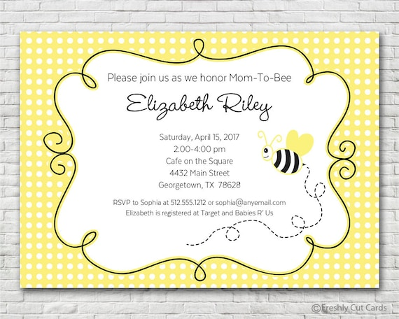 Mom to bee baby shower invitation printable or printed w free il570xn filmwisefo