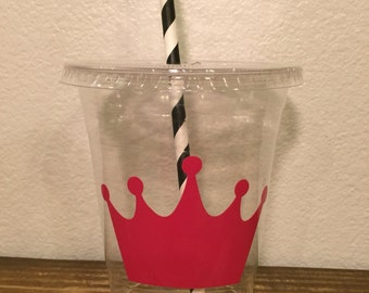 Princess crown plastic cups 20 cups (16oz) ... Great for parties, birthdays, celebrations