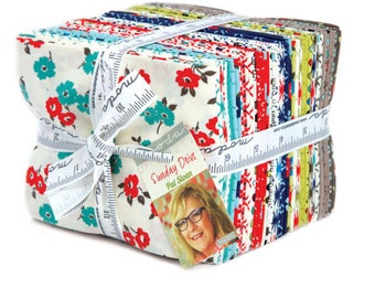 SUNDAY DRIVE  - Fat Quarter Bundle - by Pat Sloan for Moda Fabrics - 29 FQs