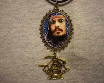 Johnny Depp Pirates Of The Caribbean Jack Sparrow Necklace
