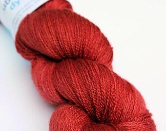 Silken lace - burnt