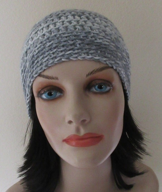 Grey Crocheted Beanie, Unisex Beanie, Cold Weather Hat, Grey Snow Hat, Hockey Mom, Hockey Dad, Ski Hat, Skull Cap, Snow Playing, Ice Skating