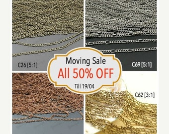 Moving 50off Sale - Collection Wholesale Buys Mix Chain C-364