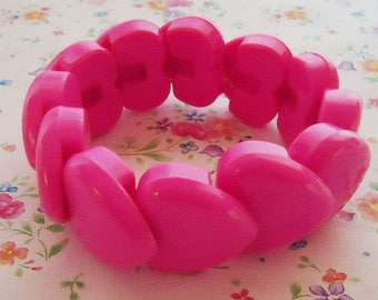 Japanese Heart Shape Bracelet.80s and Pop