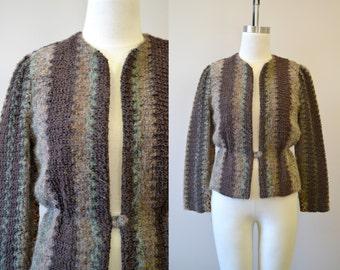 1980s-does-1940s Bouclé Jacket