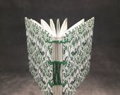 Green Floral Coptic Bound Journal