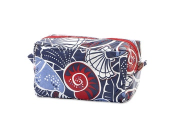 Shore Thing monogrammed cosmetic bag