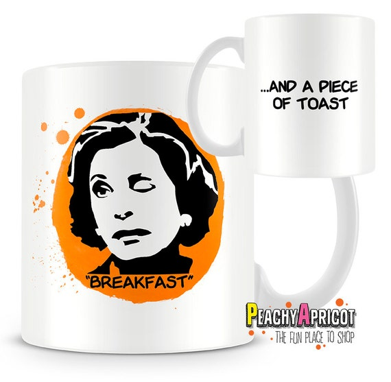 "Lucille Bluth's ""Breakfast"" mug"