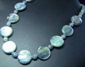 RESERVED FOR BETSY: Shimmering Kyanite Necklace (Balance Due)