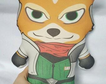 Fox McCloud Plush Pillow
