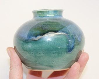 Small Pottery Flower Vase
