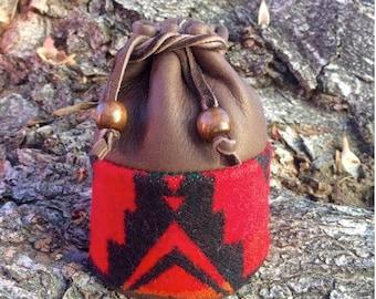 Chocolate Brown Sage Bag - medium size