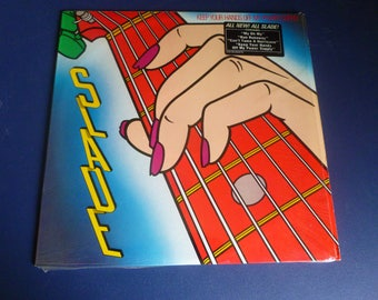 Slade Keep Your Hands Off My Power Supply Vinyl Record LP FZ 39336 CBS Associated Records 1982