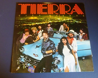 Tierra City Nights Vinyl Record LP FW 36995 Boardwalk Records 1980