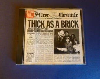 Jethro Tull Thick As A Brick CD F2 21003 Chrysalis 1985