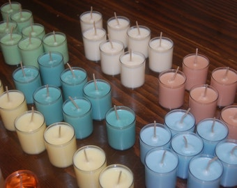 6 pack~ 2 oz votives in cup