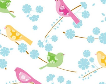 Tissue Paper, Song Birds Gift Paper, 10 Sheets ,DIY Wedding Decor | Gift Wrap ,Craft Supplies | DIY Pom Pom Supplies
