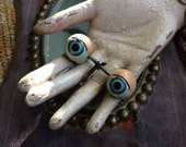 Small Vintage Metal Doll Eyes That Will Keep A Look Out