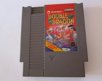 DOUBLE DRAGON --Vintage Nintendo Game  (NES)  Tested and Works!