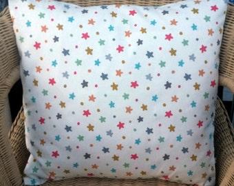 star pillow cover - star throw pillow - pastel pillow - star cushion cover - star cushion - circus decor - circus pillow