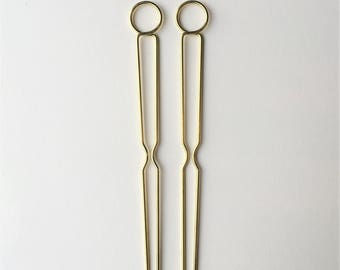 Medium Circle Hairpins